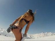 dasha-dance-bikini-snowboarding